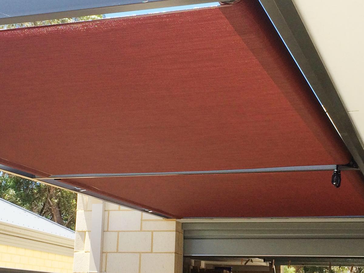 Roof To Fence Blinds Mandurah Greenfields Betta Shade